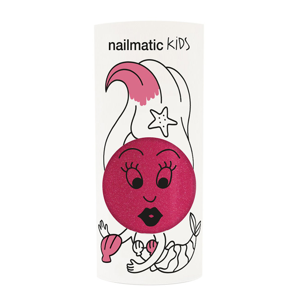Nailmatic Nail Polish  - Sissi - Dark Pink Glitter