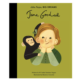 quatro Little People, Big Dreams - Jane Goodall