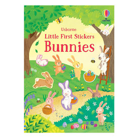 Usborne Little Stickers Bunnies