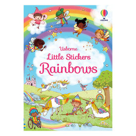 Usborne Little Stickers Rainbows