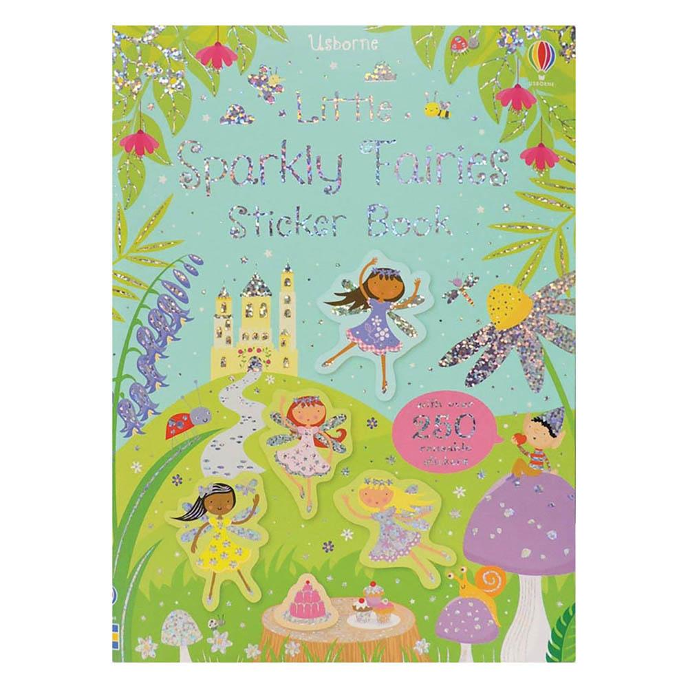 Usborne Little Stickers Sparkly Fairies