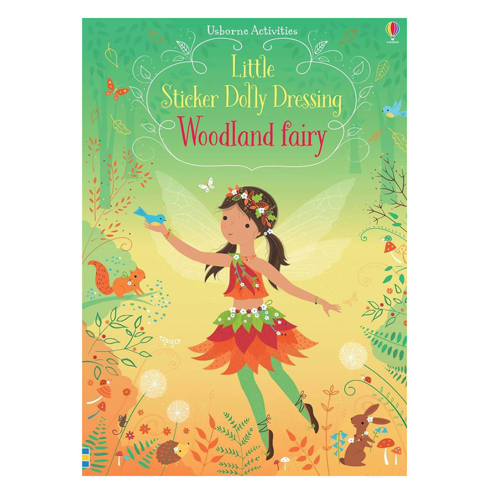 Usborne Little Sticker Dolly Dressing Woodland Fairies