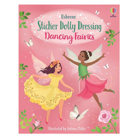 Usborne Sticker Dolly Dressing Dancing Fairies