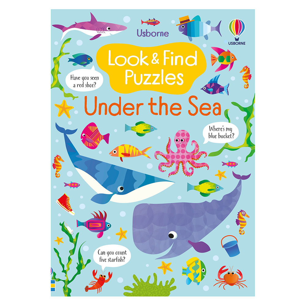 Usborne Under the Sea Look & Find Puzzles