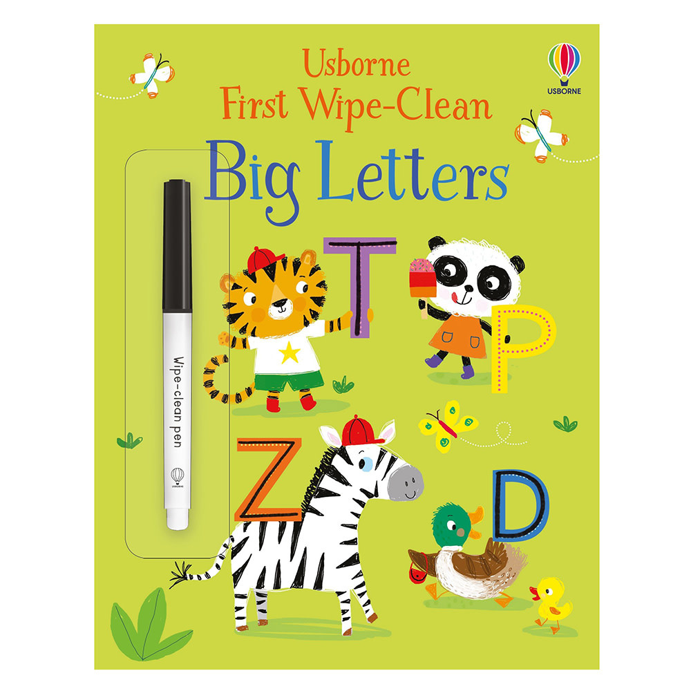 Usborne First Wipe Clean Big Letters