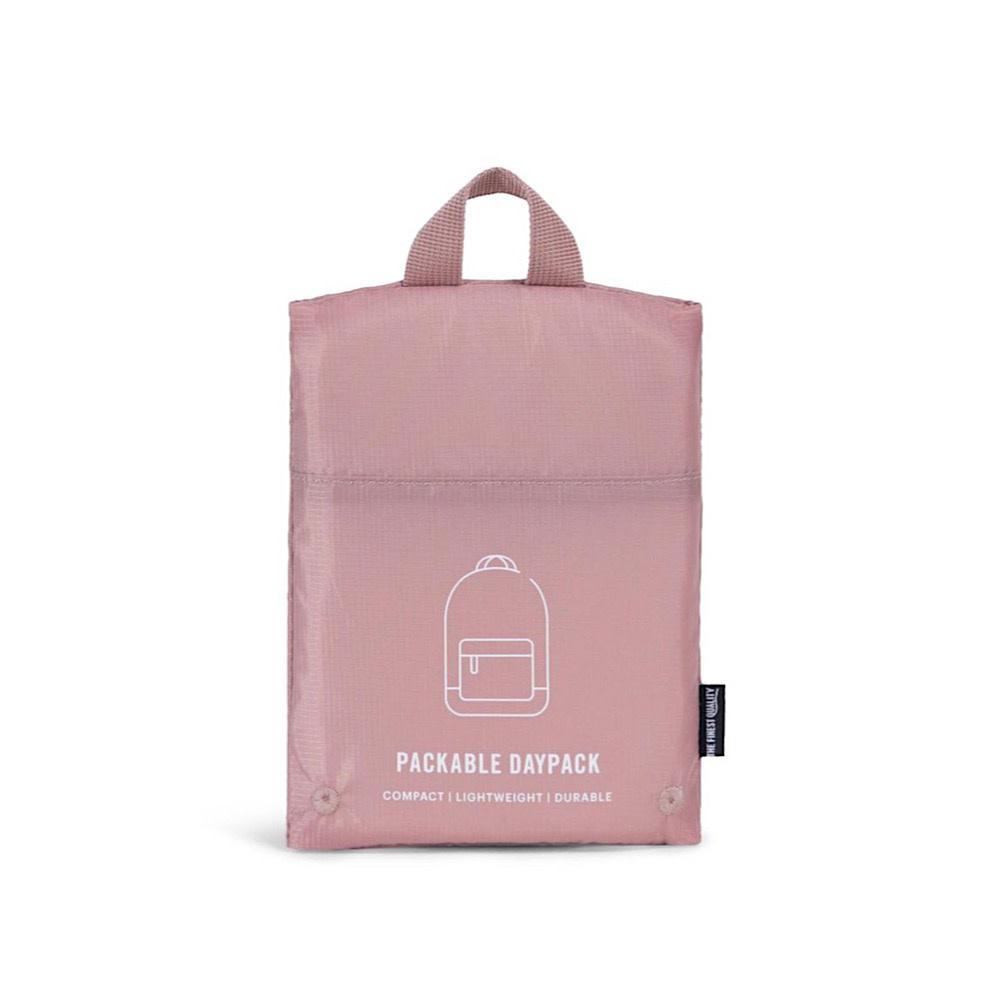 Herschel Packable Daypack - Ripstop - Ash Rose