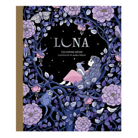 Gibbs Smith Luna Coloring Book