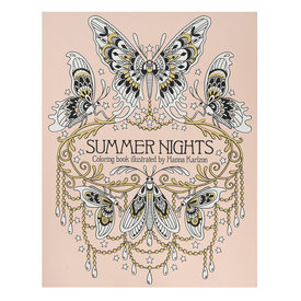 Gibbs Smith Summer Nights Coloring Book