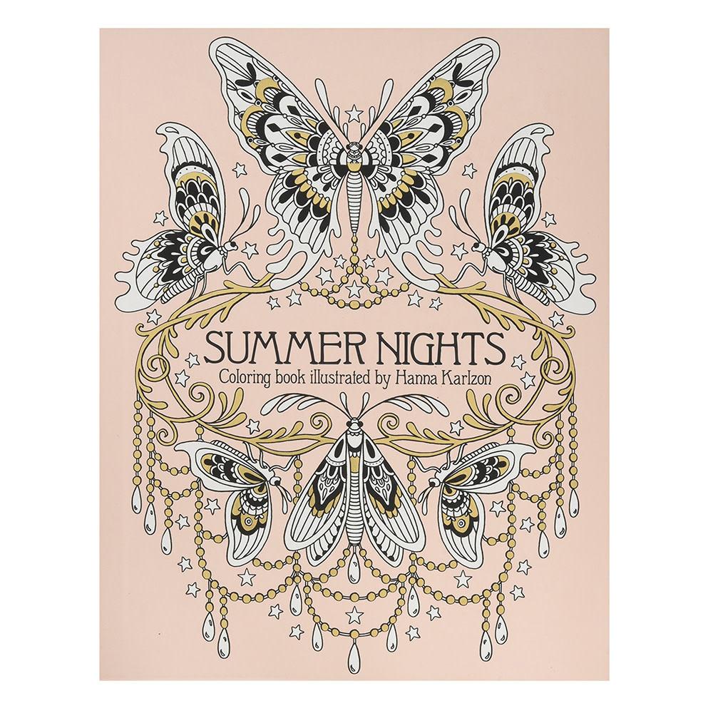 Gibbs Smith Summer Nights Coloring Book
