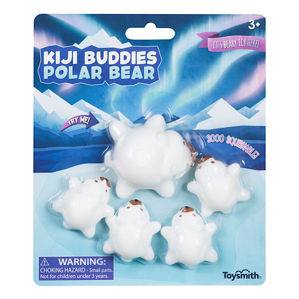 Toysmith Kiji Buddies Family Polar Bear