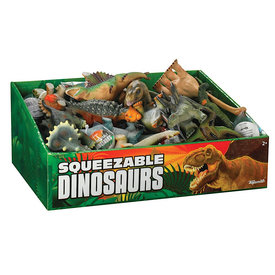 Toysmith Squeezable Dinosaurs