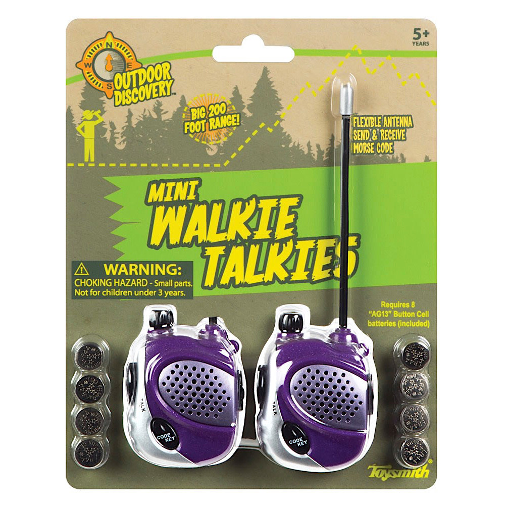 Mini Walkie Talkies (Toysmith)