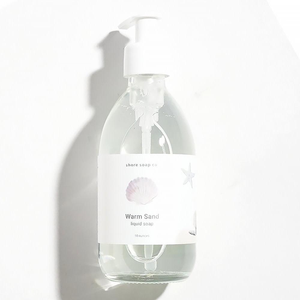 Shore Soap Company - Liquid Soap - Warm Sand