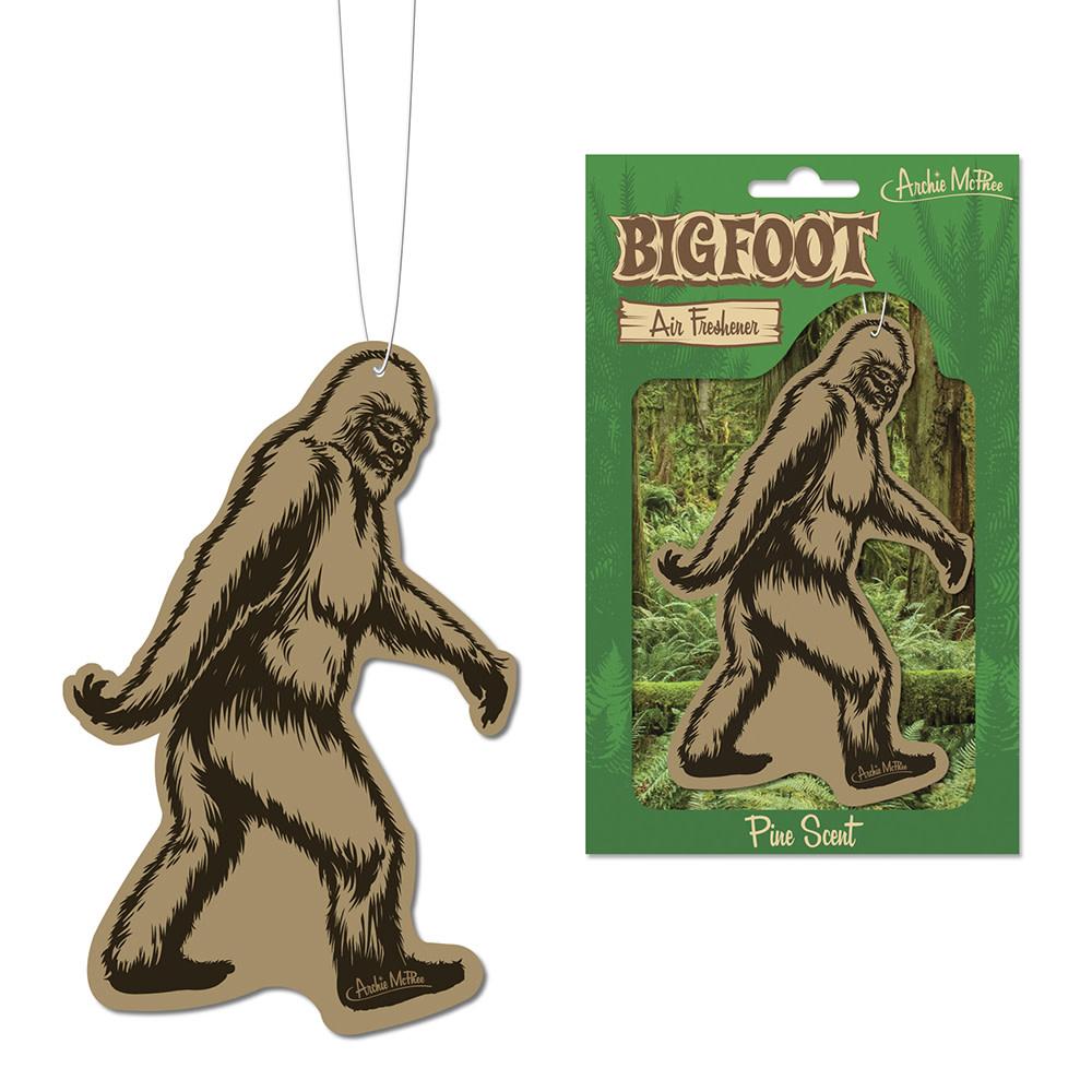 Archie McPhee Air Freshener - Bigfoot