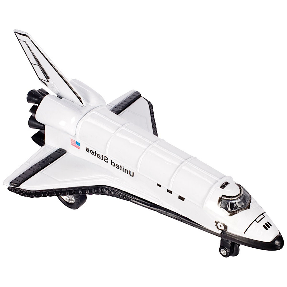 Toysmith Die Cast Space Shuttle - pull back