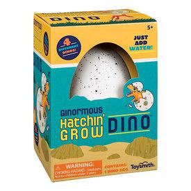 Toysmith Ginormous Hatchin Grow Dino