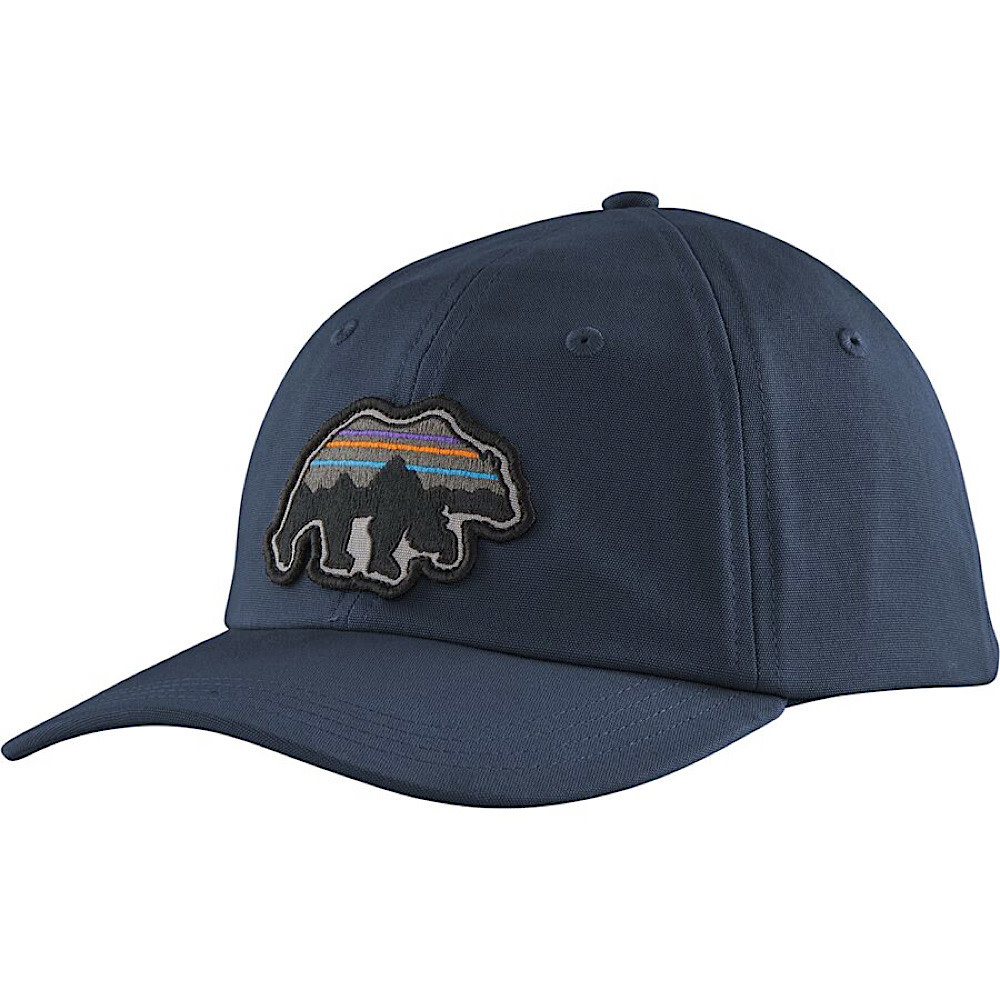 Patagonia Back For Good Trad Cap - New Navy w/ Bear
