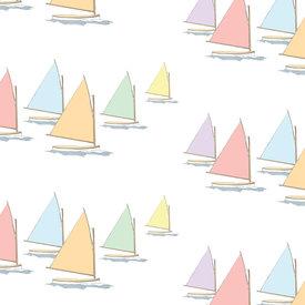 Sara Fitz Sara Fitz Wrapping Paper - Rainbow Fleet