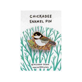 Wildship Studio Wildship Studio - Enamel Pin - Chickadee