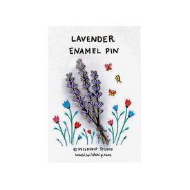 Wildship Studio Wildship Studio - Enamel Pin - Lavender