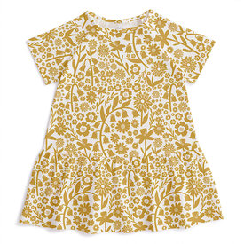 Winter Water Factory Winter Water Factory Milwaukee Dress - Spring Floral Yellow