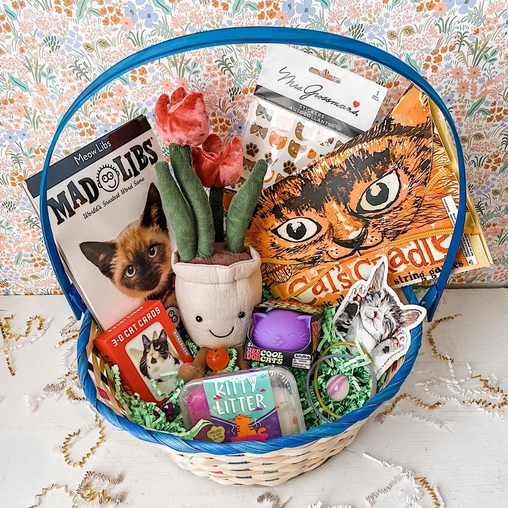 Daytrip Society Easter Basket - Meow Meow 2021