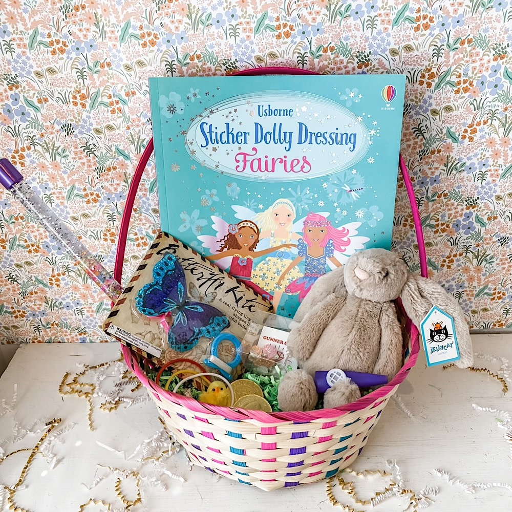 Easter Basket  - Fairies & Butterflies - 2021