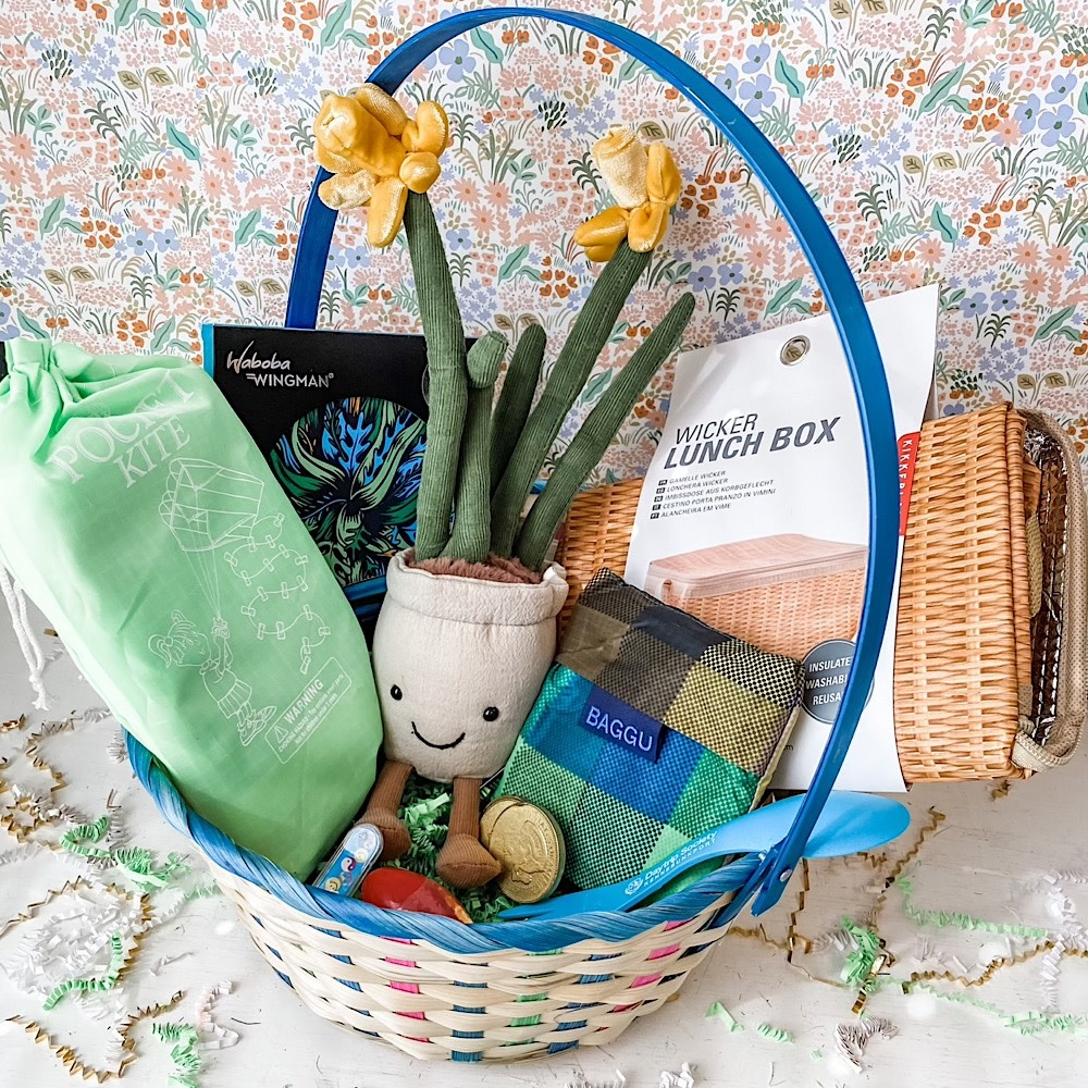 Daytrip Society Easter Basket - Picnic  2021