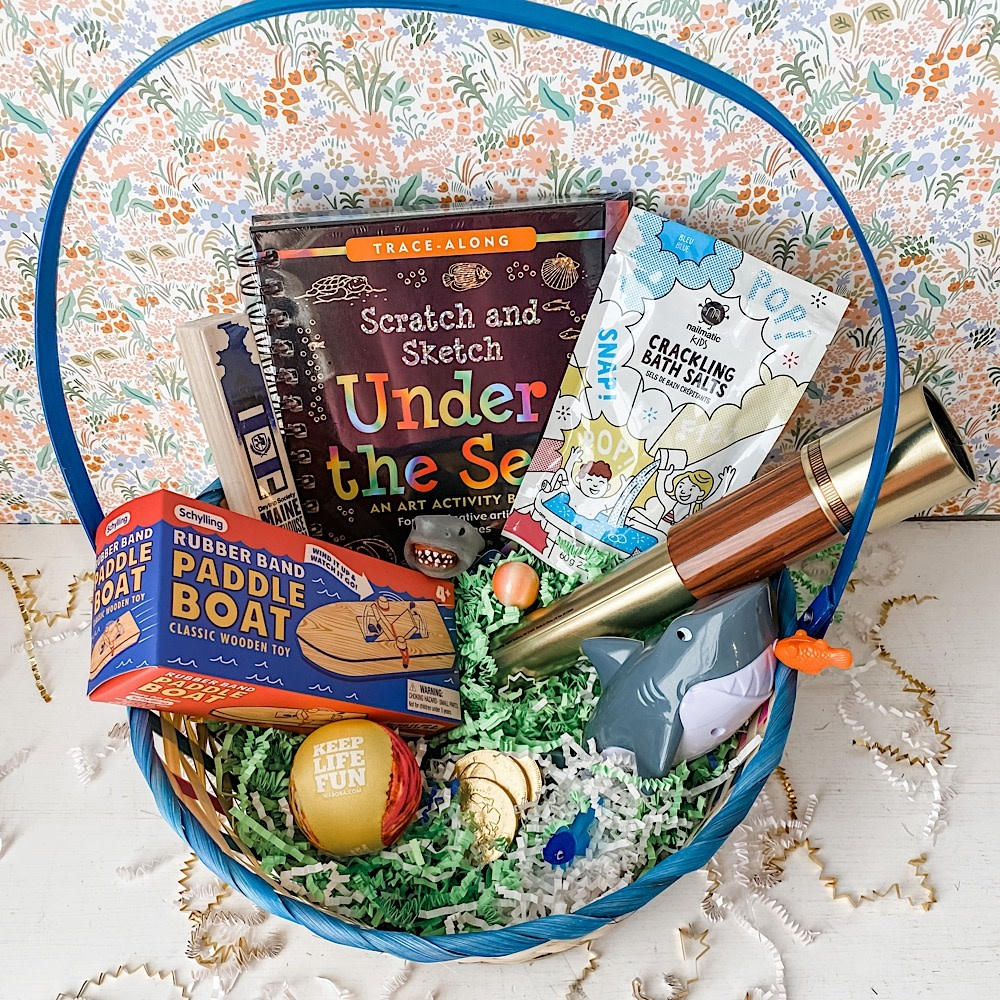 Daytrip Society Easter Basket - Under the Sea 2021