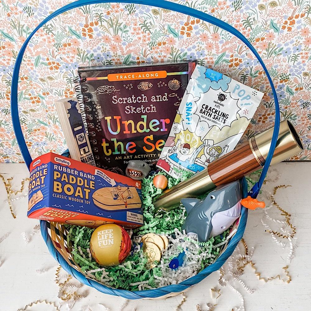 Easter Basket - Under the Sea 2021