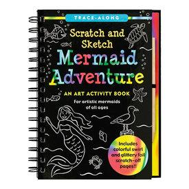 Peter Pauper Scratch and Sketch Mermaid Adventure