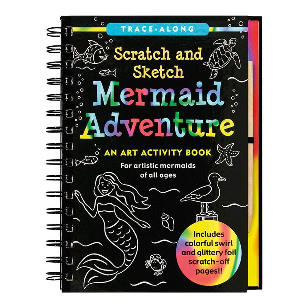 Scratch and Sketch Mermaid Adventure