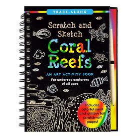 Peter Pauper Scratch & Sketch - Coral Reefs