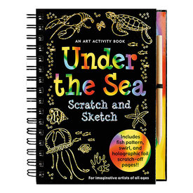 Peter Pauper Scratch and Sketch Under the Sea