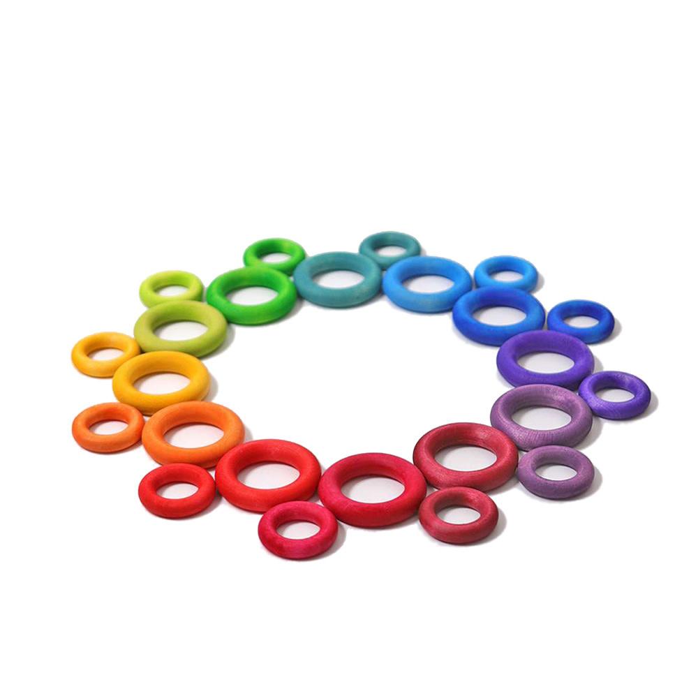 Grimms Building Rings Rainbow