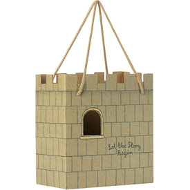 Maileg Maileg Castle Paper Bag - Let The Story Begin - Mint
