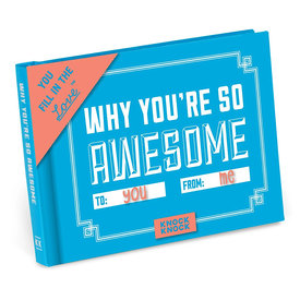 Knock Knock Why You're So Awesome Journal