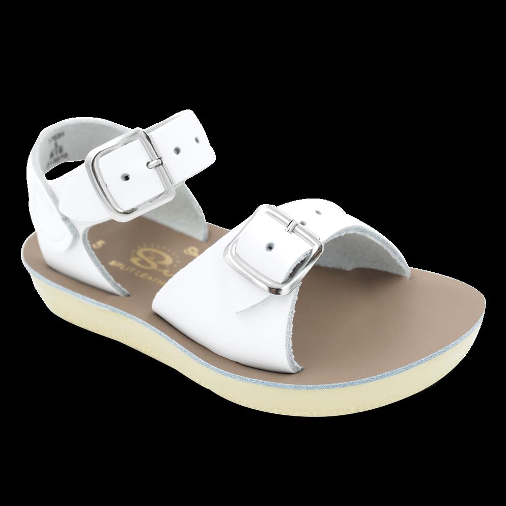 Salt Water Sandals Surfer Toddler White