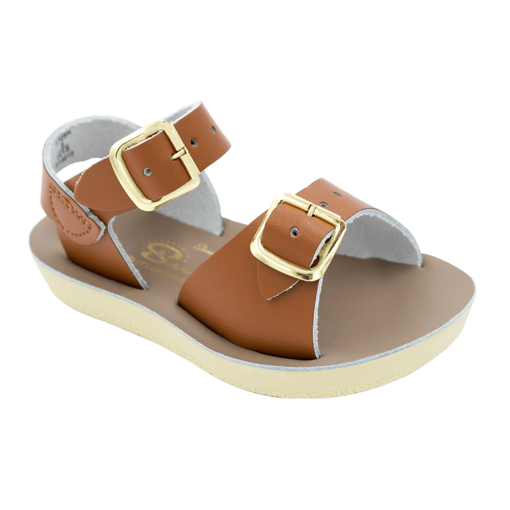 Salt Water Sandals Surfer Toddler Tan