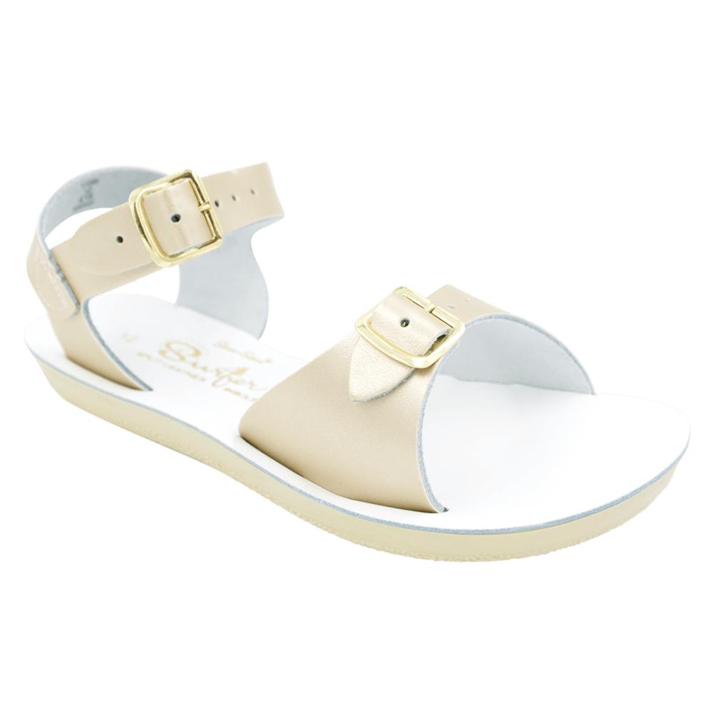 Salt Water Sandals Surfer Toddler Gold