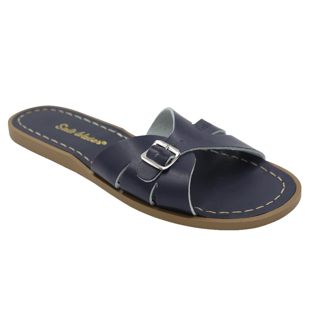 Salt Water Sandals Salt Water Sandals Adult Classic Slides - Navy