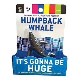 Copernicus Toys Super Absorbent Polymer Humpback Whale