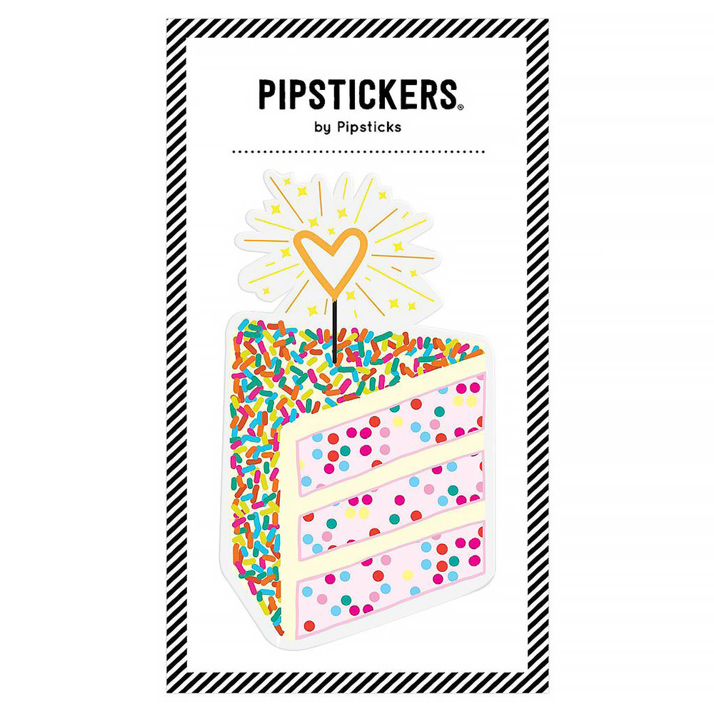 Pipsticks Big Puffy Cake Sticker