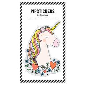 Pipsticks Big Puffy Unicorn Sticker