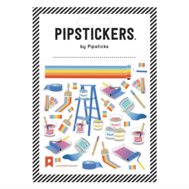 Pipsticks Technicolor Dream Coat Stickers
