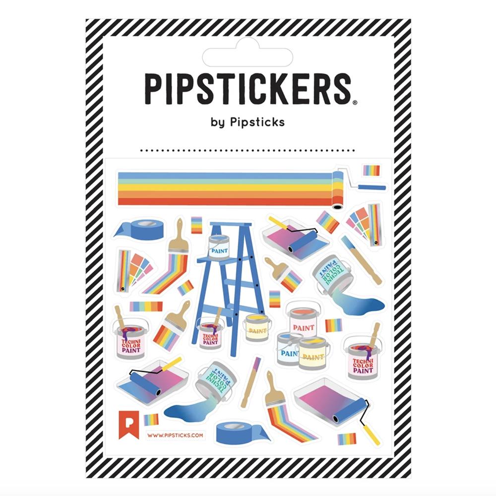 Pipsticks Technicolor Dream Coat Stickers