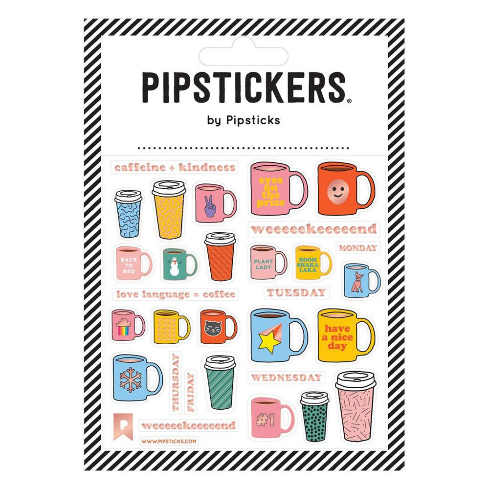 Pipsticks Daily Coffee Stickers