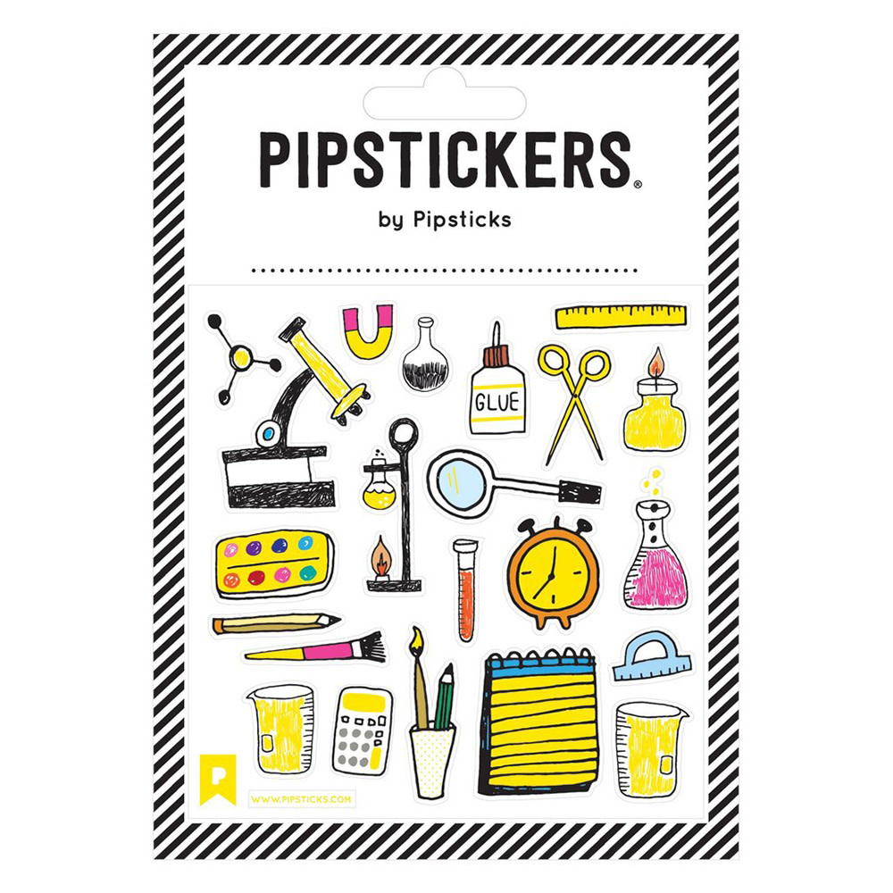 Pipsticks Science Lab Stickers