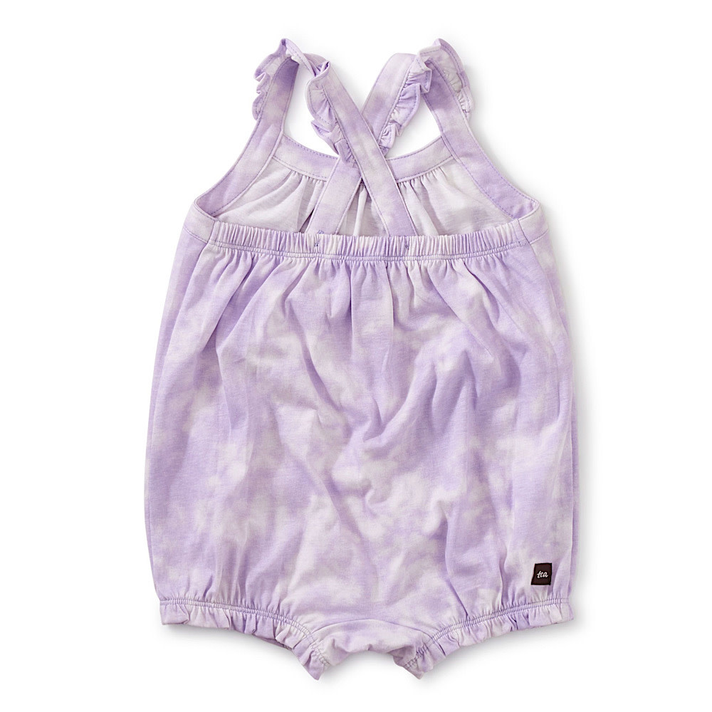 Tea Collection - Cross-Back Baby Romper - Sun Dyed