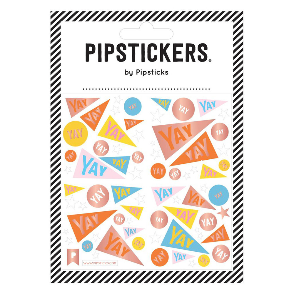 Pipsticks YAY Flags Stickers